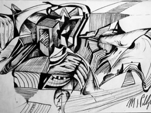 Sketches – Ink on Paper (2014)
