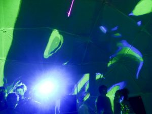 Shambala Festival 2018 – 'Art Rave in a Dome'.