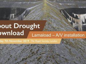 Lamaload A/V Installation, The Royal Society, London, 2019